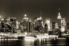 Lado oeste de Manhattan Foto de archivo libre de regalías