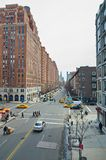 Lado oeste de Manhattan New York - 10o avenida Imagem de Stock