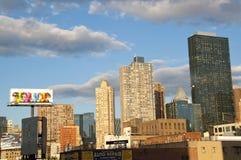 Lado oeste New York City Fotografia de Stock