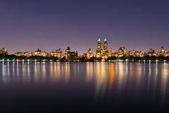 Lado oeste superior en la noche Imagenes de archivo