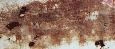 Lado oxidado do barco foto de stock