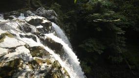 Lado superior de la cascada metrajes