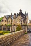 Lado traseiro da autoridade de Provand na rua do castelo em Glasgow imagem de stock royalty free