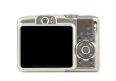 Lado traseiro de câmera compacta de Digitas Imagens de Stock