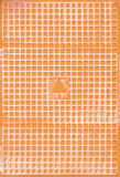 Lado traseiro de telha cerâmica de Narural Imagens de Stock