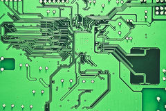 Lado traseiro do circuito Imagem de Stock Royalty Free