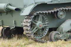 Lado trasero del tanque Imagen de archivo libre de regalías
