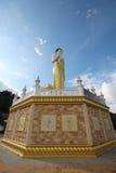 Lado view2 de Buda del soporte Imagen de archivo