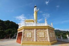 Lado view3 de Buda del soporte Fotografía de archivo libre de regalías