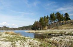 Ladoga λίμνη στην Καρελία Στοκ Εικόνες