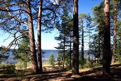 ladoga λίμνη Στοκ φωτογραφίες με δικαίωμα ελεύθερης χρήσης