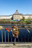 ladoga φρουρίων μεσαιωνικό staraya Ρωσία Στοκ εικόνα με δικαίωμα ελεύθερης χρήσης