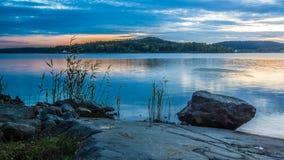 ladoga湖 库存图片