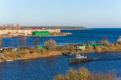 Ladoga channel Stock Images