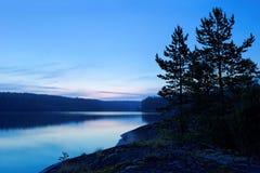 Ladoga before dawn Stock Image