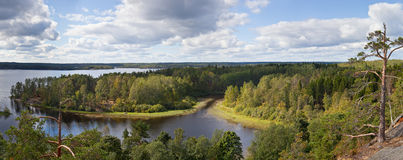 Ladoga islands Royalty Free Stock Images