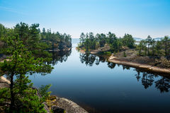 Ladoga lake Stock Photography