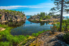 Ladoga lake Stock Photos