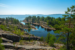 Ladoga lake Stock Images