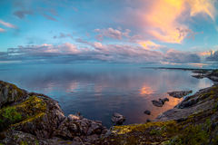 ladoga lake Fotografering för Bildbyråer