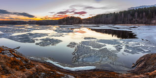 ladoga lake arkivfoton