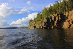 Ladoga lake, Karelia, Russia Stock Images