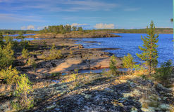 Ladoga lake, Karelia, Russia Royalty Free Stock Photography