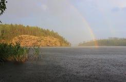 Ladoga lake, Karelia, Russia Stock Photography