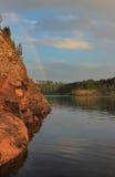 Ladoga lake, Karelia, Russia Royalty Free Stock Images