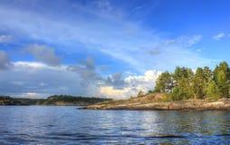 Ladoga lake, Karelia, Russia Stock Photo