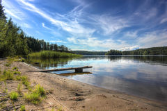 Ladoga lake, Karelia, Russia Royalty Free Stock Photos