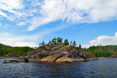 Ladoga lake Stock Photography