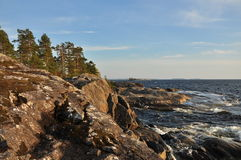 Ladoga lake Royalty Free Stock Photo