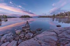 Ladoga pinks Royaltyfri Fotografi