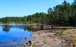 Ladoga See Lizenzfreies Stockfoto