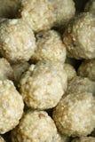 Ladoo - il laddu è un piatto dolce dall'India Fotografia Stock Libera da Diritti