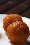 Ladoo - il laddu è un piatto dolce dall'India Immagine Stock Libera da Diritti