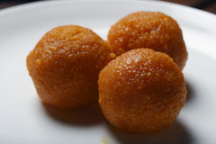 Ladoo - laddu is a sweet dish from India Royalty Free Stock Images