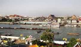 2 lados de Bangkok Foto de archivo
