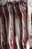Lados de carne de porco Imagens de Stock Royalty Free