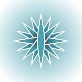 Lados del logotipo del mundo Imágenes de archivo libres de regalías