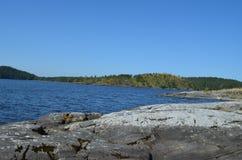 Ladozhskoe sjö Arkivbilder