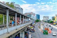 Ladprao centrale è un centro commerciale a Bangkok, Tailandia immagini stock libere da diritti