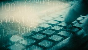 Ladrão do Cyber que corta o sistema de segurança do banco filme