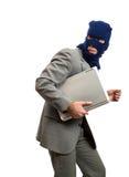 Ladrão que começ afastado Imagem de Stock Royalty Free