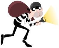Ladrón ilustración del vector