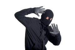 Ladrón cogido fotos de archivo