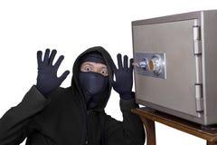 Ladrón cogido foto de archivo libre de regalías