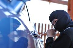 Ladrón de coche Foto de archivo
