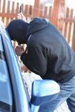Ladrón de coche Fotografía de archivo